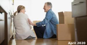 April 2020 Downsizing in retirement