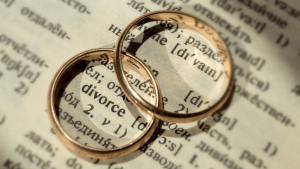 Wedding rings on a dictionary - Wealth Connexion